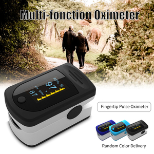Portable Blood Oxygen Monitor Finger Pulse Oximeter Oxygen Saturation Monitor Fast Shipping within 24hours (without Battery)(China)