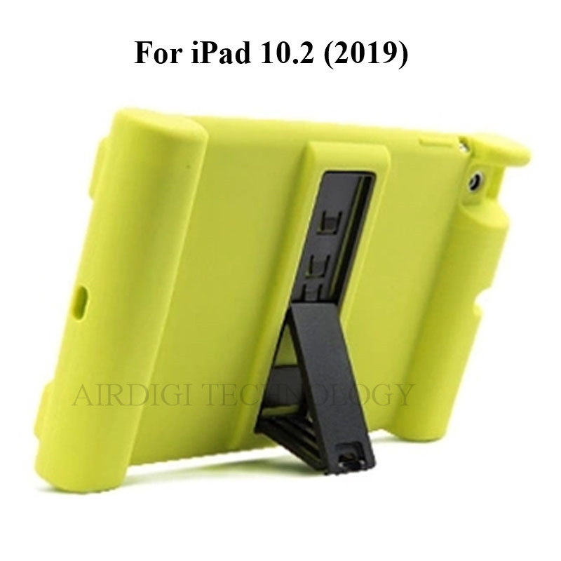 10.2 Case A2200 A2198 A2428 Cover Soft Shockproof Silicone iPad A2197 for A2270 Kickstand