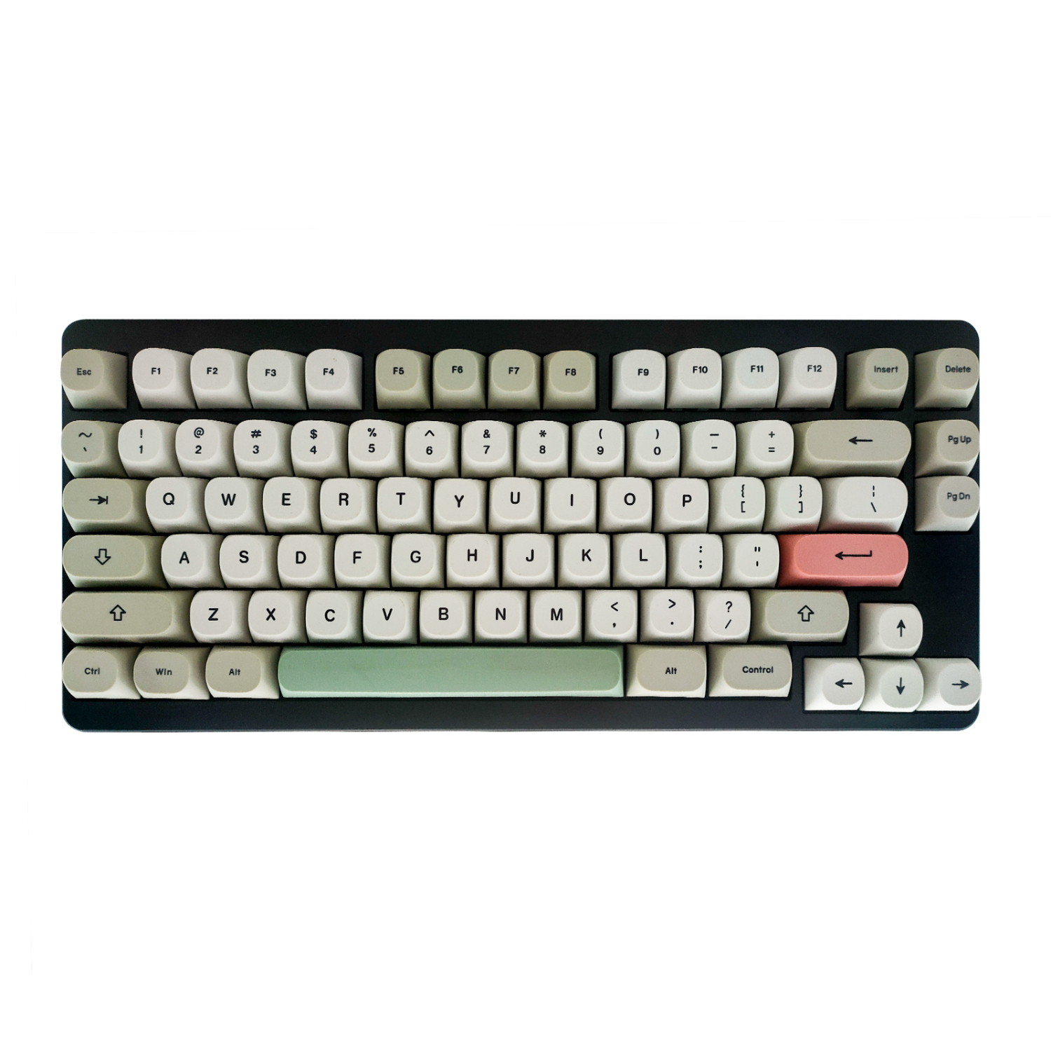 Idobao Keycap Of Keyboard, With Or Without Letters, Can Be Used For Game Keyboard 80/96 Key