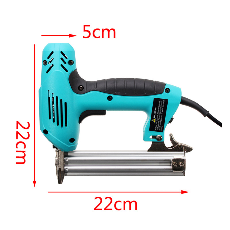 Image 4 - 220V 1800W Electric Staple F30 Single Straight Nail Gun 10 30mm Special Use 30/min Woodworking Tool Straight Gas Nail Gun-in Nail Guns from Tools on