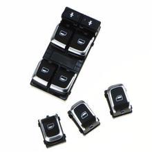 Хромированная электрическая кнопка переключения стекла для a6