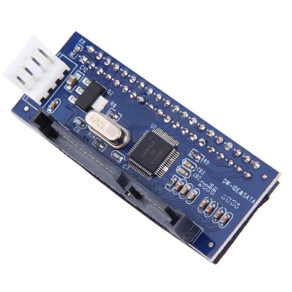 3.5 محول بطاقة تحويل HDD IDE/PATA إلى SATA لـ IDE 40-pin محرك القرص الصلب DVD الموقد إلى كابل اللوحة الأم لنقل البيانات SATA 7pin