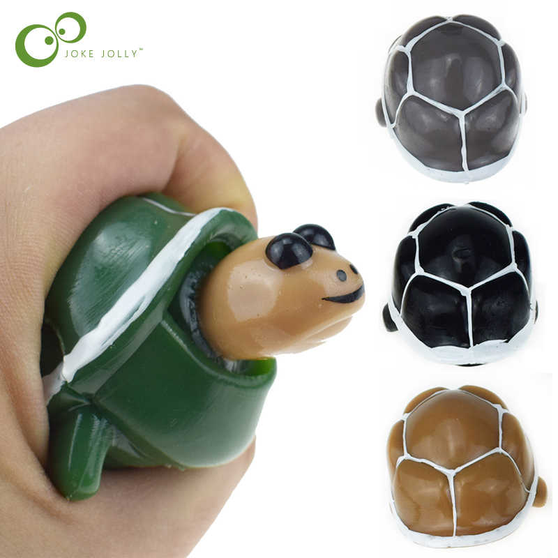 1Pc Creative Antistress Relief Web Celebrity Hand Pinch Turtle Vent Ball New Strange Toy Fun Children's Adult Toys GYH