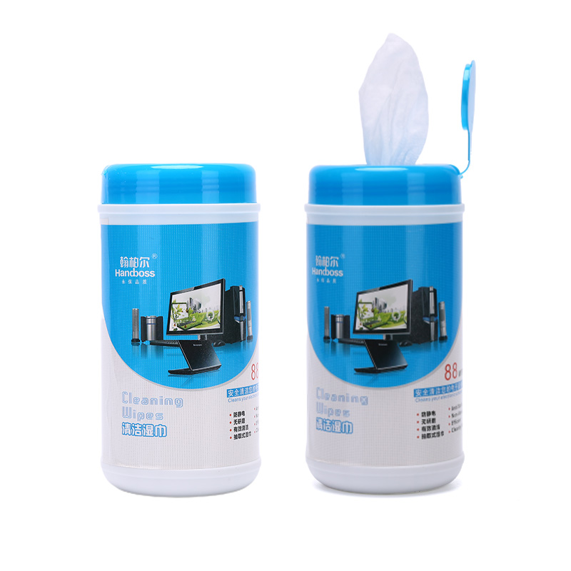 1Box=88pcs Soft Cleaning Wipes Clean Towel Decontamination Sterilization For Laptop Computer Monitor TV Mobile Phone Screen