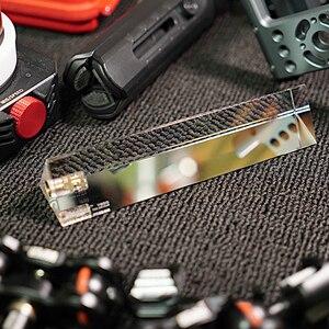 Image 2 - VLOG filtro de lente Triangular para fotografía, cristal mágico, luz de cristal, Halo, lente de cristal óptico para videocámaras de cámara DSLR