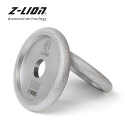 Z-LION 100 millimetri di Vuoto Brasatura Mola Del Diamante Granito Marmo Cemento Scanalature Disco Scanalatura Levigatura Lucidatura Spugne Abrasive