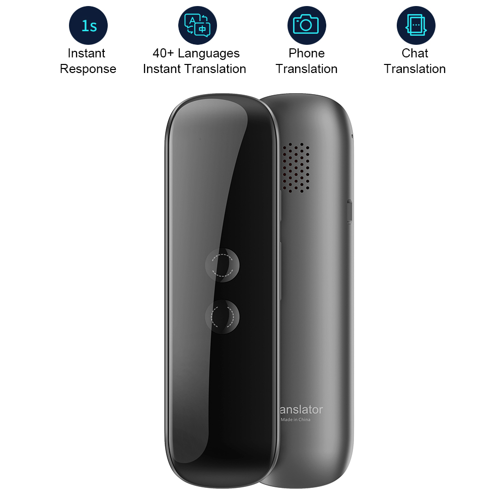 11 Portable 3 In 1 Smart Voice Translator Device Electronic Voice/Text/Photographic Bluetooth Language Instant Translator