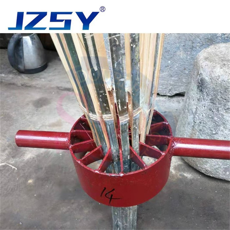High Efficiency Mini Manual Bamboo Chips Slitting Mill Planing Bamboo Joint Machine Bamboo Splitter Split Stripping Machine
