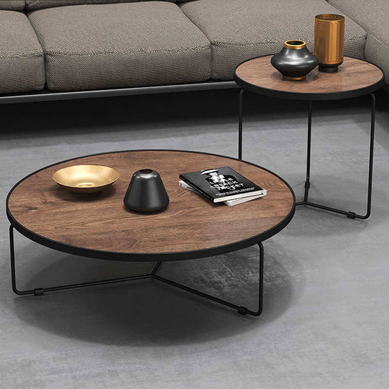 Gl Wooden Iron Metal Coffee Tables