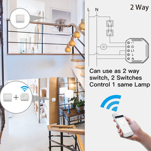 Image 5 - smart WiFi switch module turn your old switch into smart compatible with Alexa Google Assistance Voice Control for Android / IOS