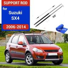 รถ Hood Strut บาร์ไฮดรอลิก Rod Spring Bracket รถจัดแต่งทรงผมอุปกรณ์เสริมสำหรับ Suzuki SX4 2006 2007 2008 2013 2014สำหรับ Fiat Sedici