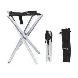 Ultralight odkryty składany stołek krzesła wędkarskie krzesło kempingowe Mini składany stołek Oxford + łożysko ze stopu aluminium 90kg