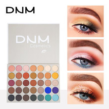 DNM Cosmetics Nude 35 Color Eye Shadow Palette Eyeshadow Pigment Shimmer Matte Waterproof Paleta De Sombra Makeup Pallete