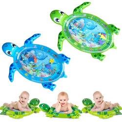 Дропшиппинг, новый дизайн, детский коврик для игры в воду, надувной детский животик, игровой коврик для малышей, для веселой деятельности, де...