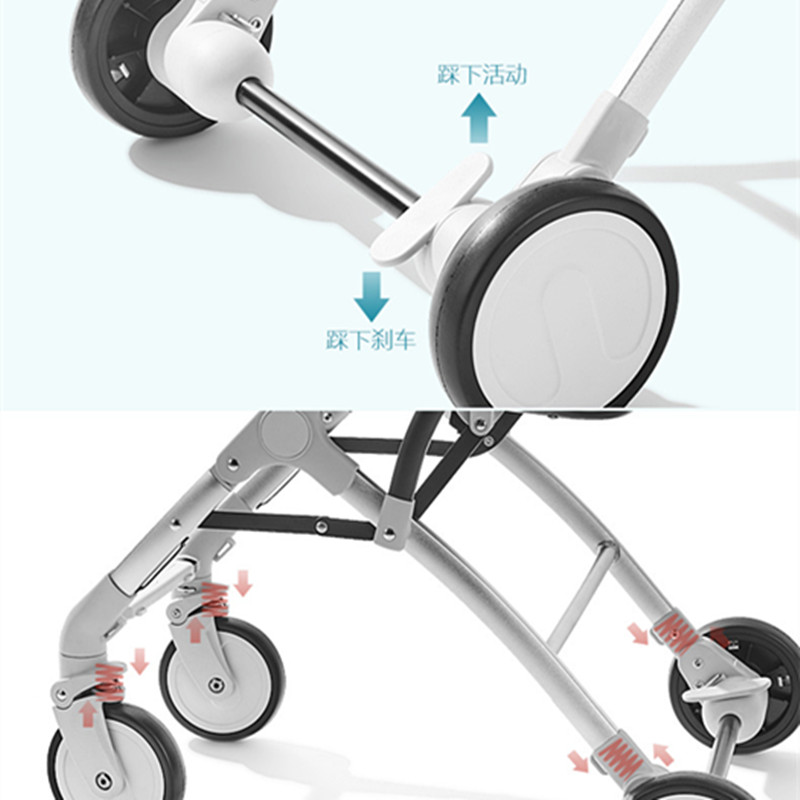 Image 5 - Baby Stroller Lightweight Travel-in Four Wheels Stroller from Mother & Kids