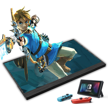15.6inch Portable Monitor Touchscreen IPS 1080P HDR Gaming Monitor USB C HDMI-compatibe for Switch Smartphone Laptop PS4 XBOX 5
