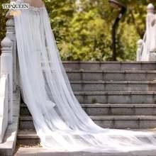 Topqueen женские длинные накидки для свадьбы украшенные жемчугом