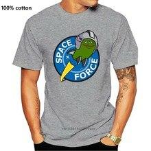 Donald Trump Força Espacial Combatendo Alienígenas T-Shirt Do Esporte Cinzento & Azul Cor tee orgulho 3 Casual Cool t shirt homens Unisex Moda de Nova