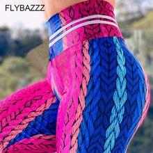 Gym Leggings Yoga-Pants Push-Up Plus-Size Tights Stretch Slim Women Fitness Running Tie