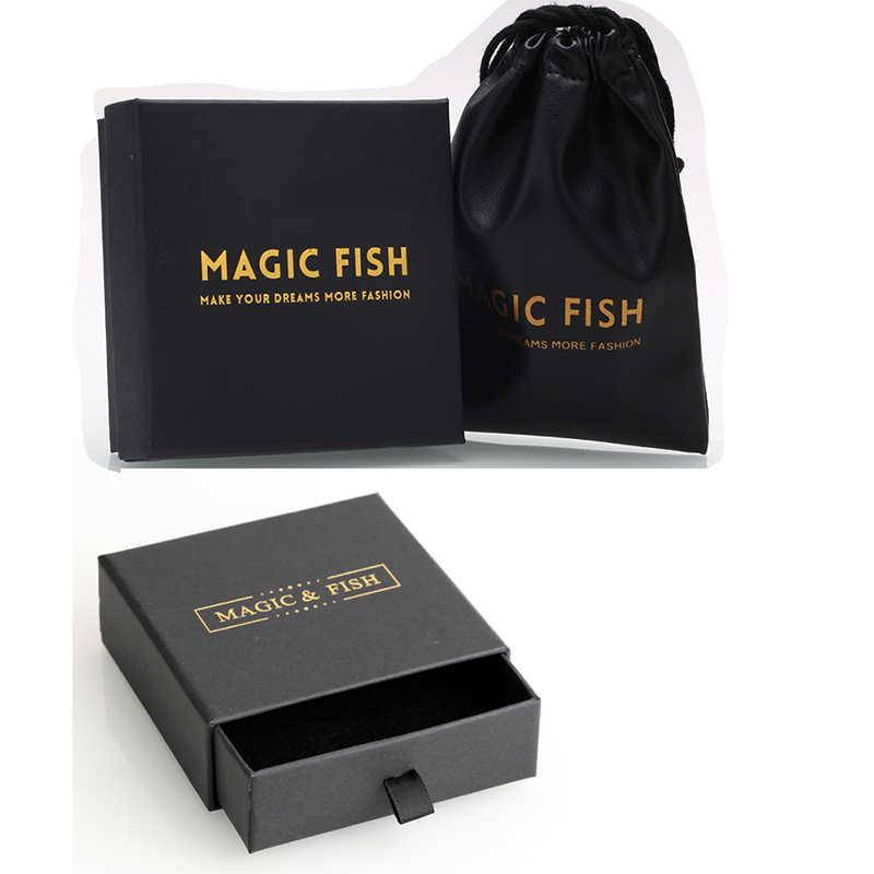 Kulit dan Beludru Tas Bangle Gelang Kalung Hadiah Box Logo Bagus Perhiasan Kantong Labu Kotak untuk Perhiasan Packing Hadiah Tas kantong
