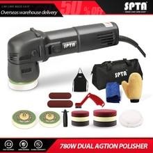 SPTA 3นิ้วสุ่ม Orbit Dual Action Polisher 110V/220V มินิไฟฟ้าขัดรถความงามเครื่องขัด & อุปกรณ์เสริม