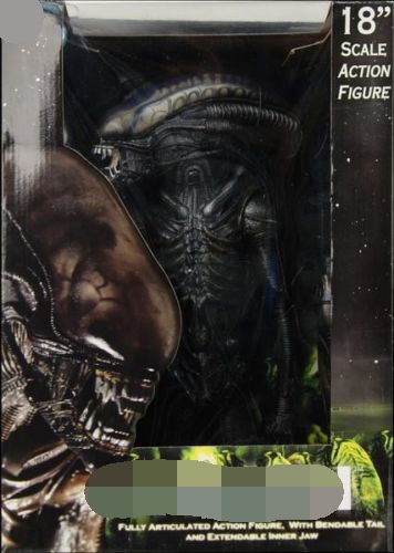 "NECA 1//4 SCALE 18/"" ALIEN 2008 Production of 1979 Xenomorph Action Figure"