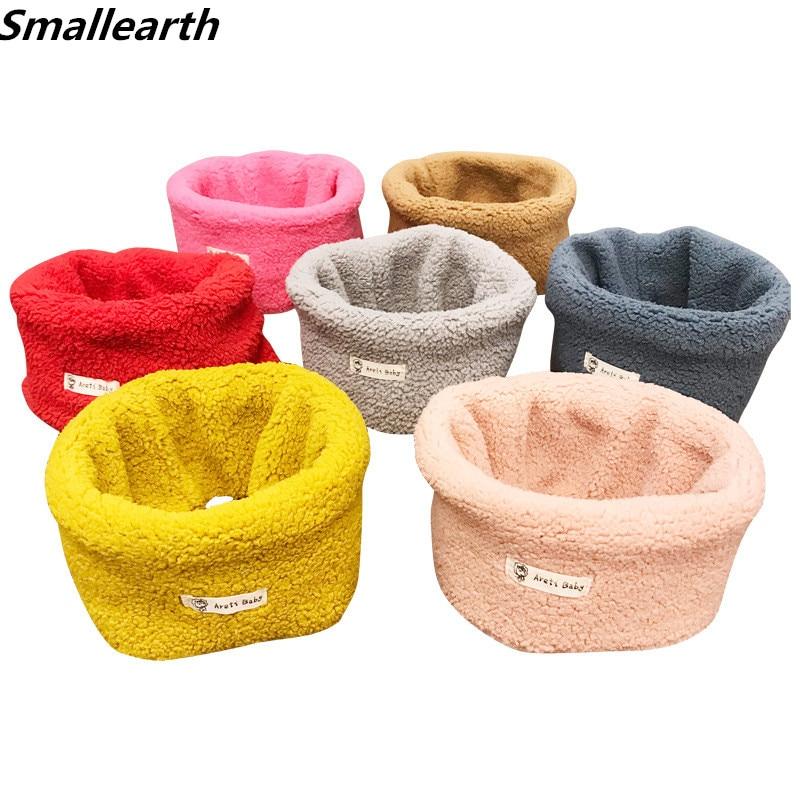 Autumn Winter Child Baby Snood Scarf Boys Girl Knit O Ring Neck Warm Neckerchief