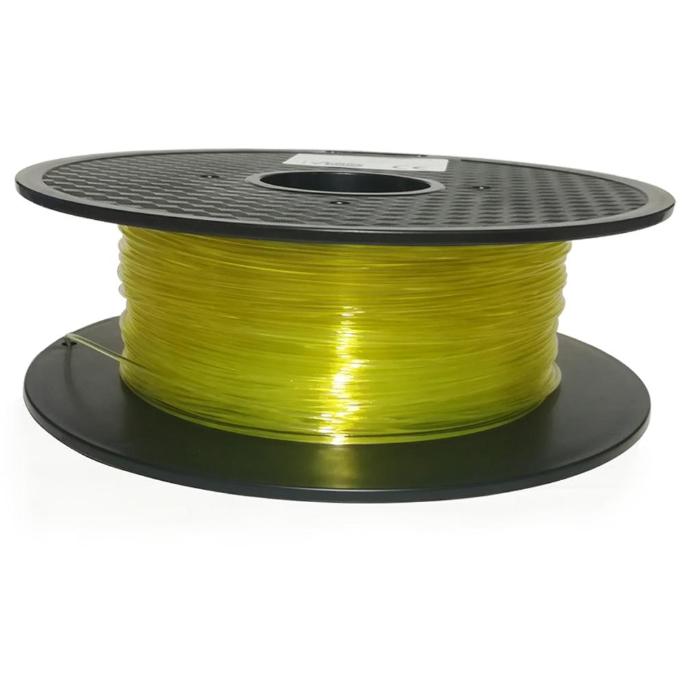 PVA 3D printer filament - 1.75mm - 1kg (Transparent) 2