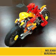 9368 Hero factory star soldier furno motorcycle 7158 building block Toy