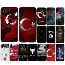 BabaiteFlag Turkey Istanbul Antalya mobile phone case for huawei y6 y7 y9 prime nova 2 2i 3 3i telephone accessories(China)