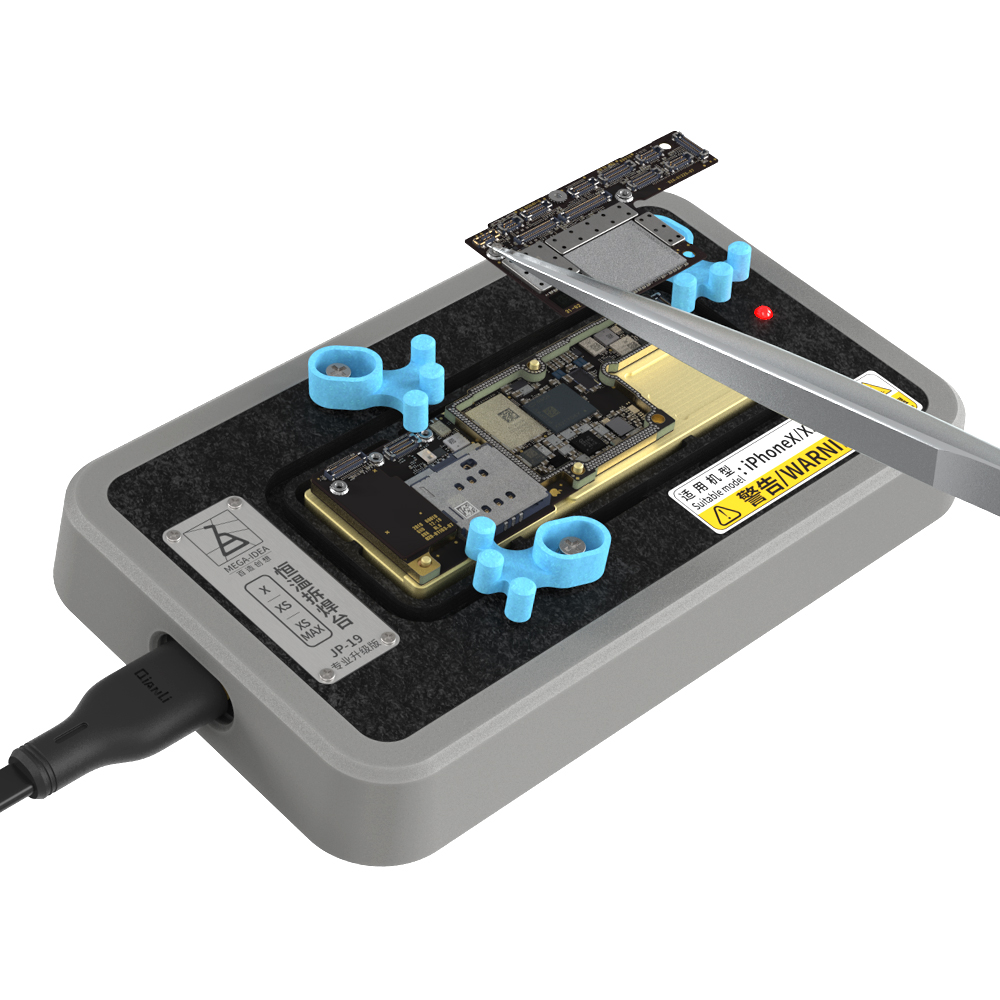 Qianli Mega-Idea CPU IC Chips Desoldering Station for IP X XS MAX Motherboard Fast Heating Separator Glue Removing Fixture