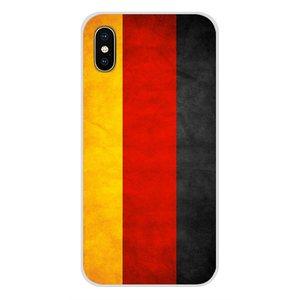 Немецкий флаг для Xiaomi Redmi Note 3 4 5 6 7 8 Pro Mi Max Mix 2 3 2S Pocophone F1 аксессуары чехлы для телефонов