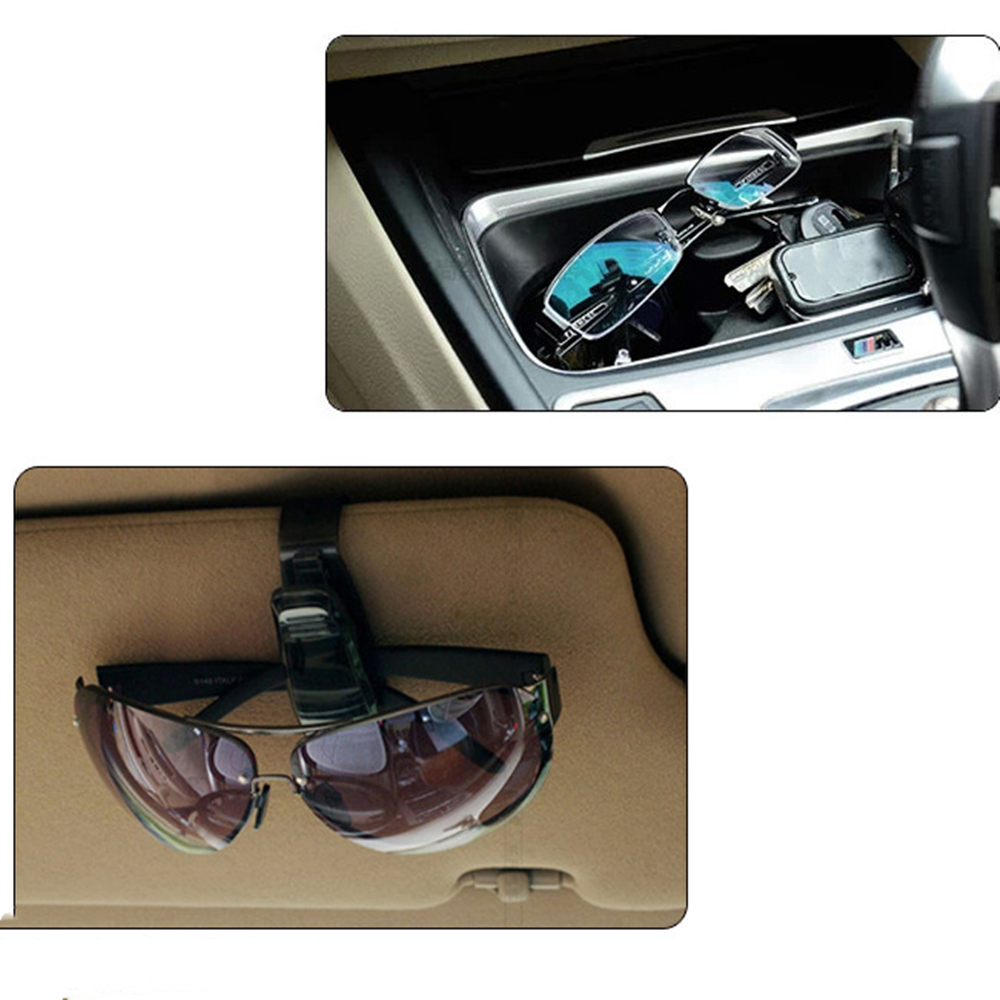 Car Auto Sun Visor Glasses Sunglasses Clip For Renault Koleos Clio Scenic Megane Duster Sandero Captur Twingo
