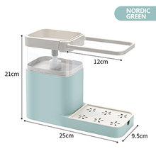 Диспенсер для мыла (3 в 1) контейнер моющего средства держатель