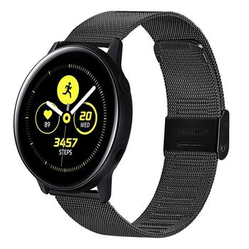 22mm watch band For Samsung galaxy watch 46mm 42mm active 2 20 Gear S3 Frontier strap Milanese amazfit huawei watch GT 2e strap 22mm 20mm watchband for samsung band galaxy watch active 46mm gear s3 frontier 42mm huawei watch gt strap silicone watch strap