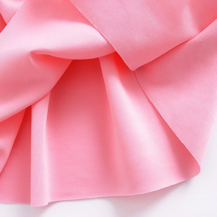 H1652119f4b274c259f1bfcf149ab677av Girls Dress 2018 Summer Explosion Solid Color Denim Dress Cartoon Polka Dot Bow Cartoon Bunny Satchel Korean Baby Cute Dress