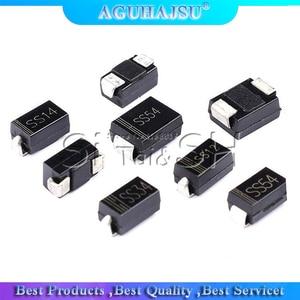 100PCS Rectifier diode 1N5819 SS14 1N5822 SS34 SR160 SS16 1N5817 SS12 SR1 100 SS110 SR360 SS36 SR240 SS24 SR2 100 SS210 SS310
