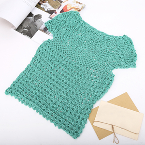 Image 4 - 300グラムイタリア桑シルク糸木綿糸でcrocheライン絹織物デザイナークール夏の氷の絹ニットZL4