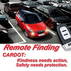Image 5 - Cardot Beste Passieve Keyless Entry Systeem Drukknop Start Stop Remote Engine Start Smart Auto Alarm