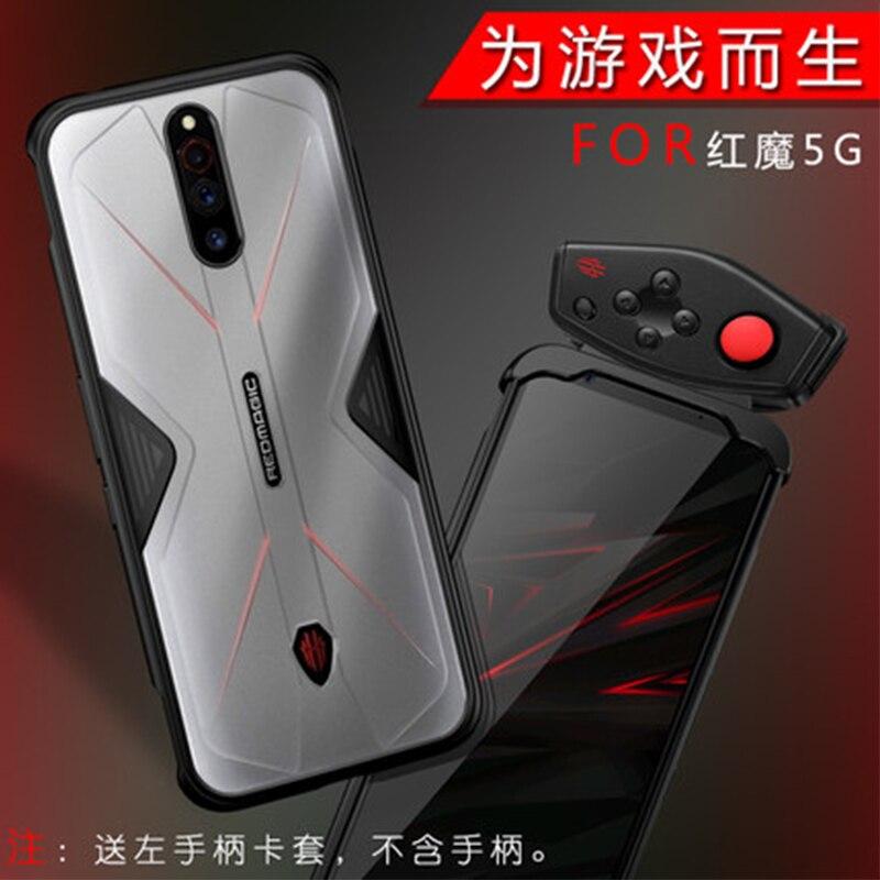 Red Magic 5G Game Case Soft TPU Bumper PC Case for Redmagic 5g Fashion Phone Cover Skin Funda Coque capa