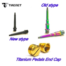 2pcs/pair Titanium/Ti Pedal Spindle/Axles for Bicycle Pedal Spindle for Crank Brothers Egg Beater Candy 1/2/3/11 Tiremet