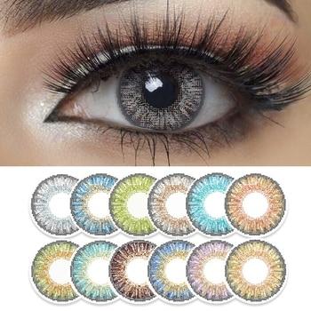 Έγχρωμοι φακοί επαφής freshgo tone series για μάτια