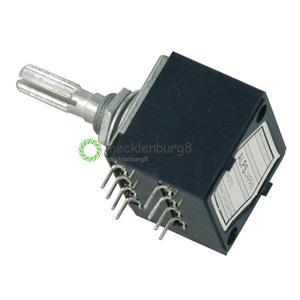 Image 3 - NUOVO 50K RH2702 Rotary Potenziometro LOG ALPI Controllo del Volume Audio Pentola Stereo W Volume