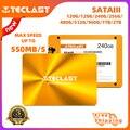 Teclast SSD 240 GB 480GB Laptop Internal Solid State Drives Desktop 120GB 128GB 256GB Solid 520MB/s 1TB SATA Three-year Warranty
