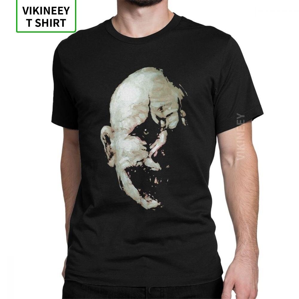 Zombie USA Heads Skulls Grim Corpse Evil Horror Scary  Mens T-shirt