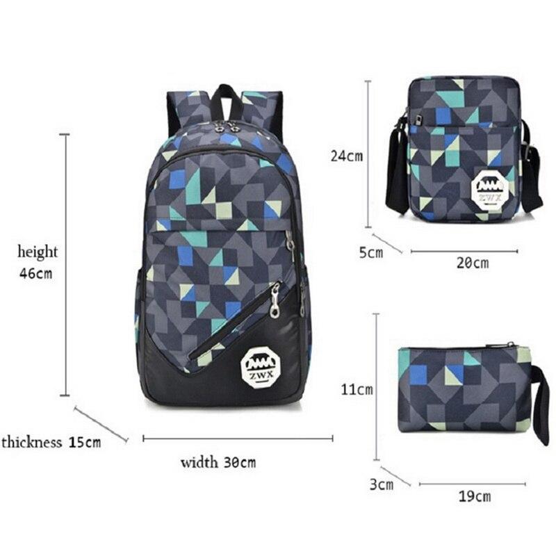 Women Backpacks Schoolbag