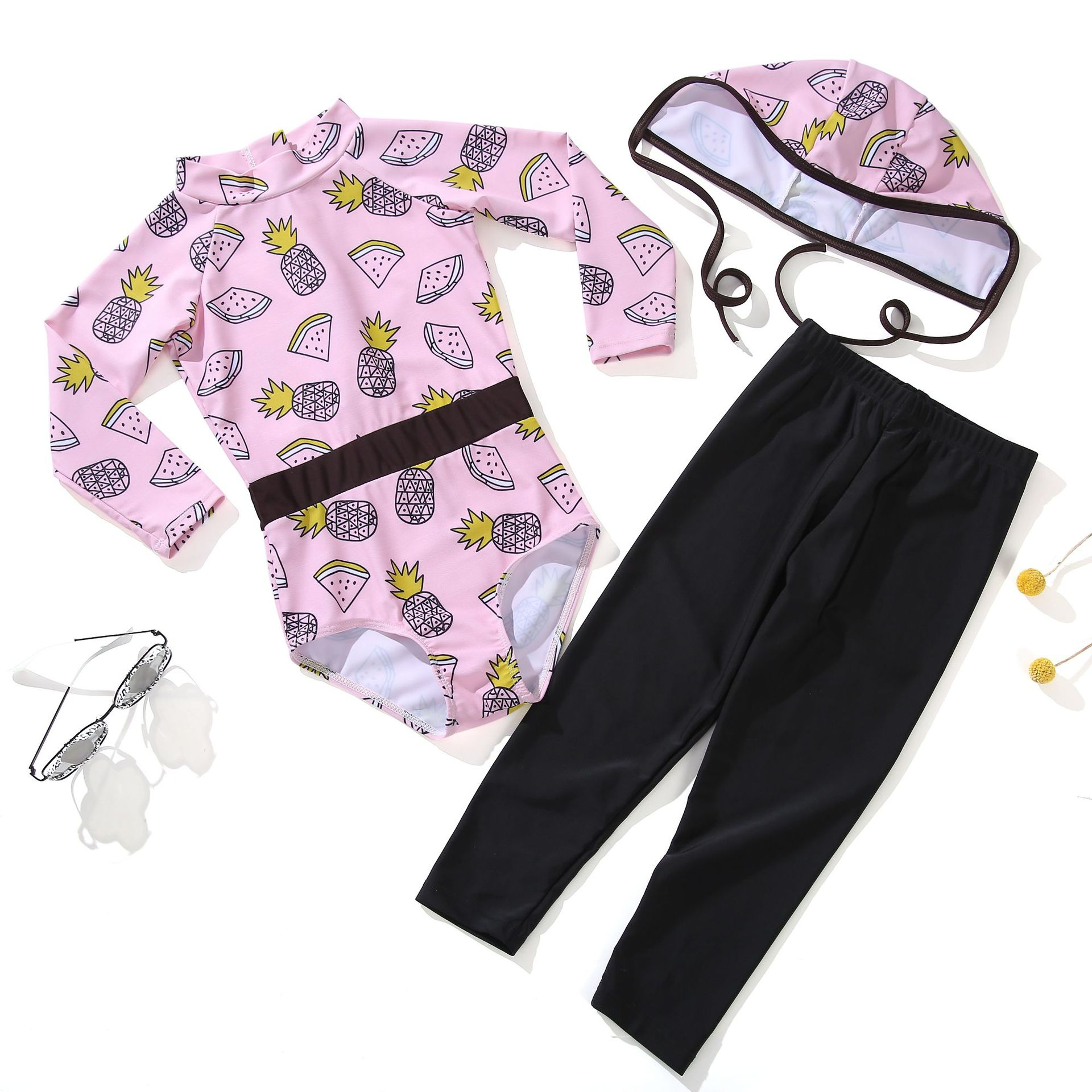 Big Boy Baby Split Type Swimsuit New Style Children Diving Suit Girls Winter Cold Snorkeling Clothing One-piece Coat