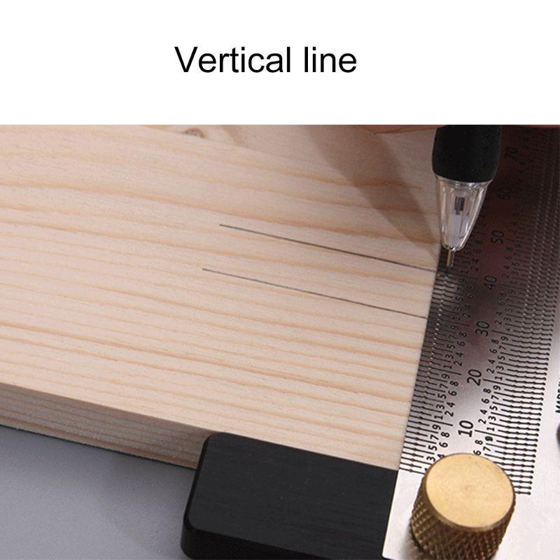 Régua de escala de alta precisão t-rule