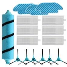 Substituição do rolo escova lateral mop para cocotec conga 4090 aspirador de pó robô vassoura conga 4090 recargas peças