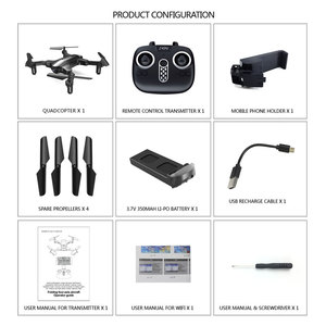 Image 5 - Clearance Cewaal Toy RC Drone 4CH 6 Axis Gyro Drone FPV 2.4G WIFI Foldable Quadcopter One Key Return Real Time Transmission